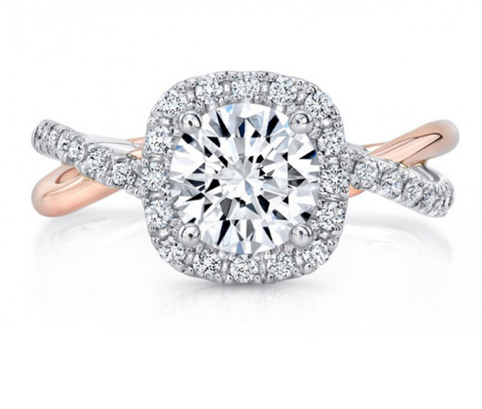 LAURENTIAN JEWELLERS-twisted-engagment-ring
