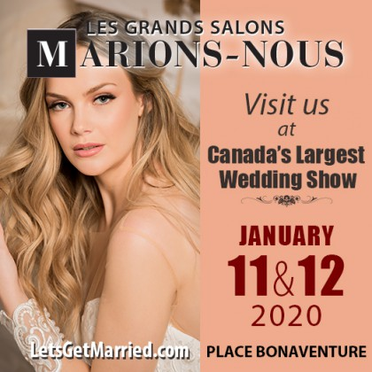 Lets Get Married Les Grands Salons Marions-Nous September 2017