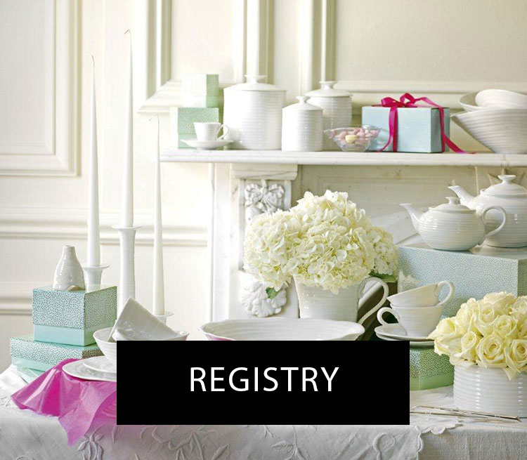 Gift registry toronto wedding
